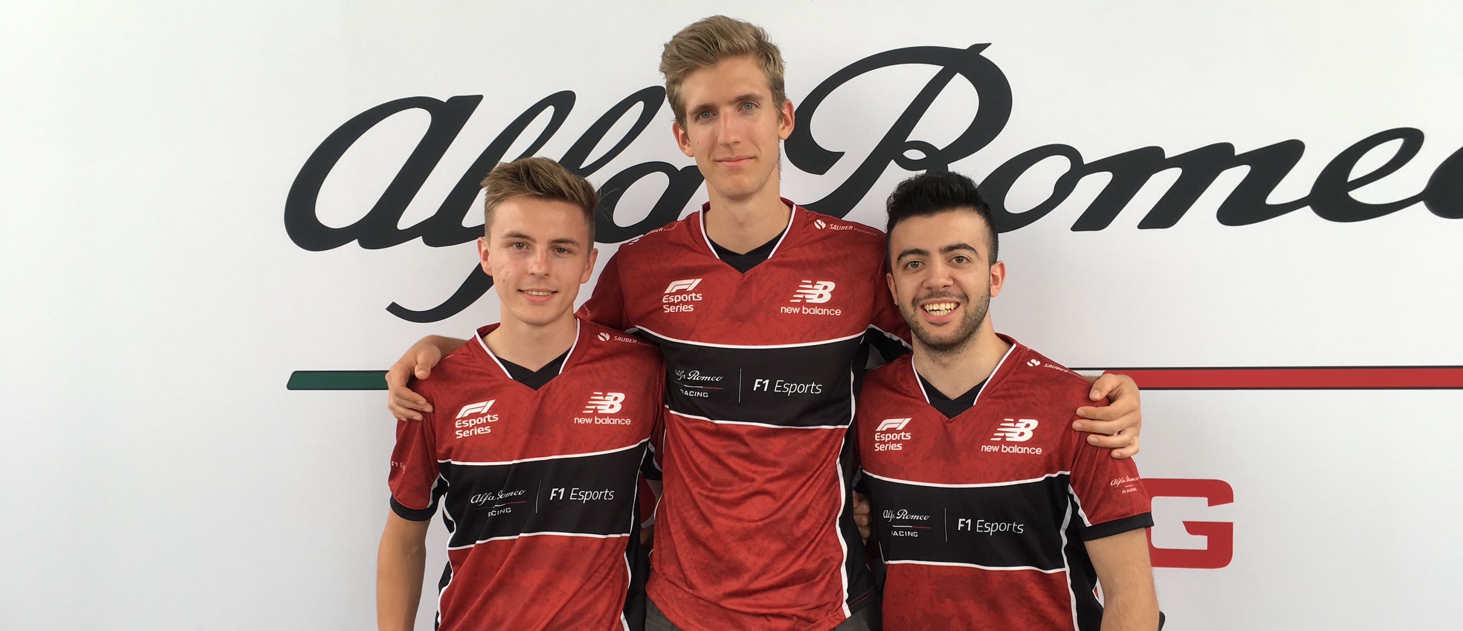 Alfa Romeo Racing F1 Esports Team Launch New-Look Team in Silverstone