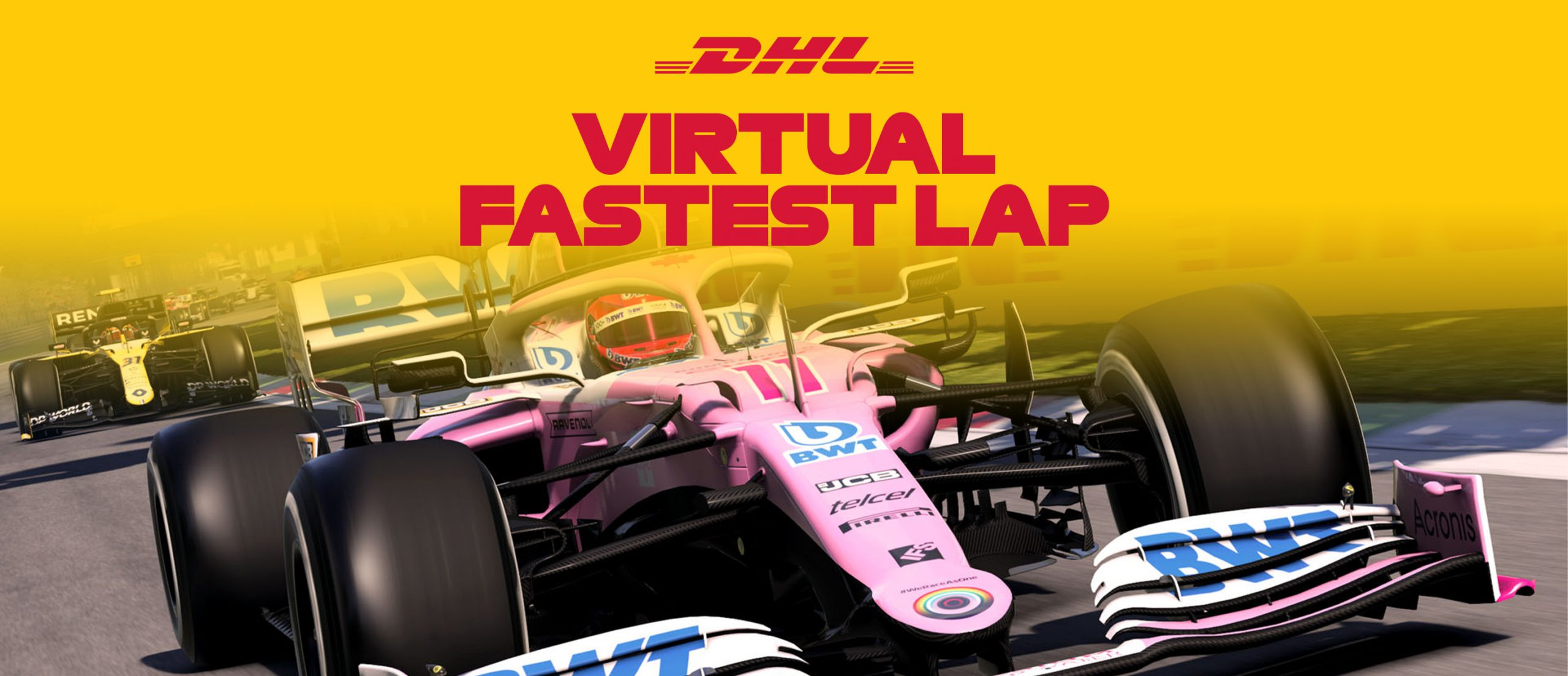 DHL Virtual Fastest Lap Competition Now Open!