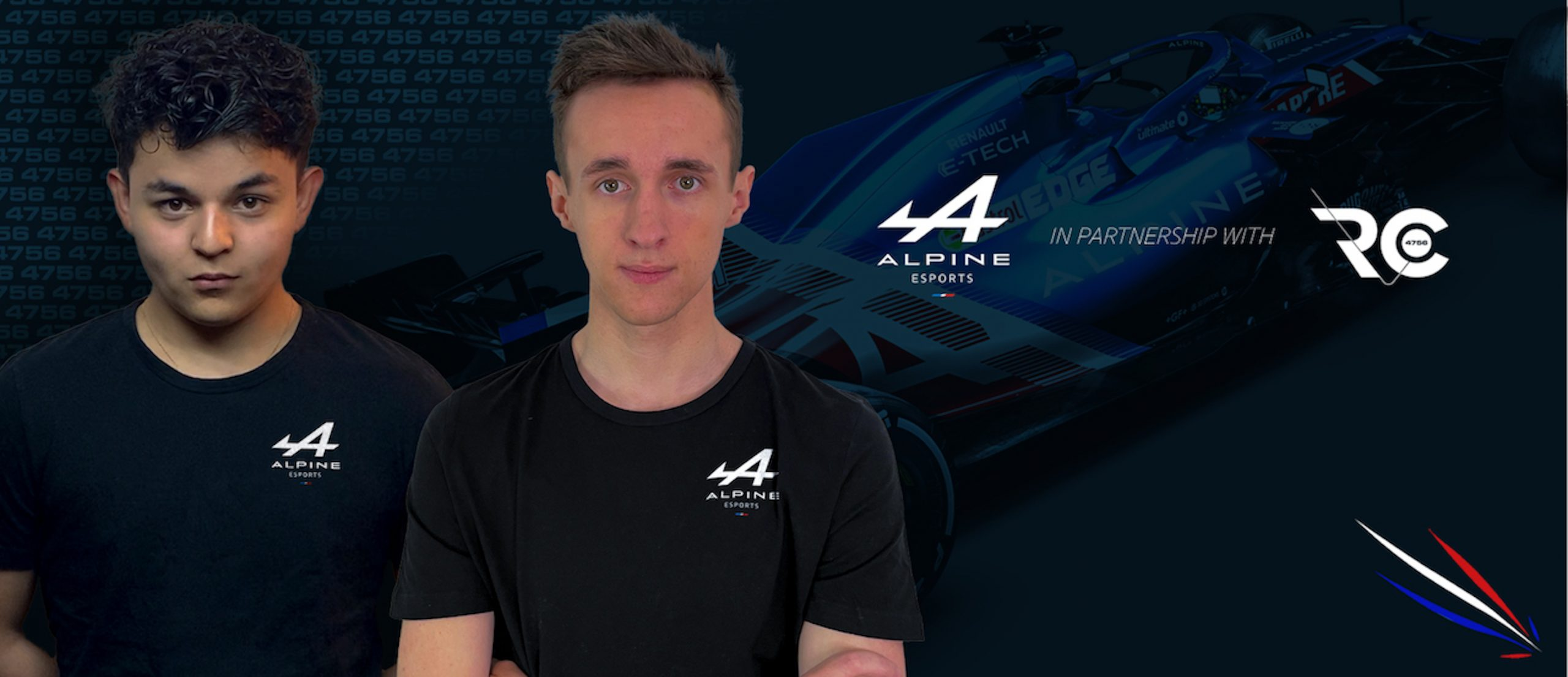 Alpine Esports Team Launch 2021 Squad!