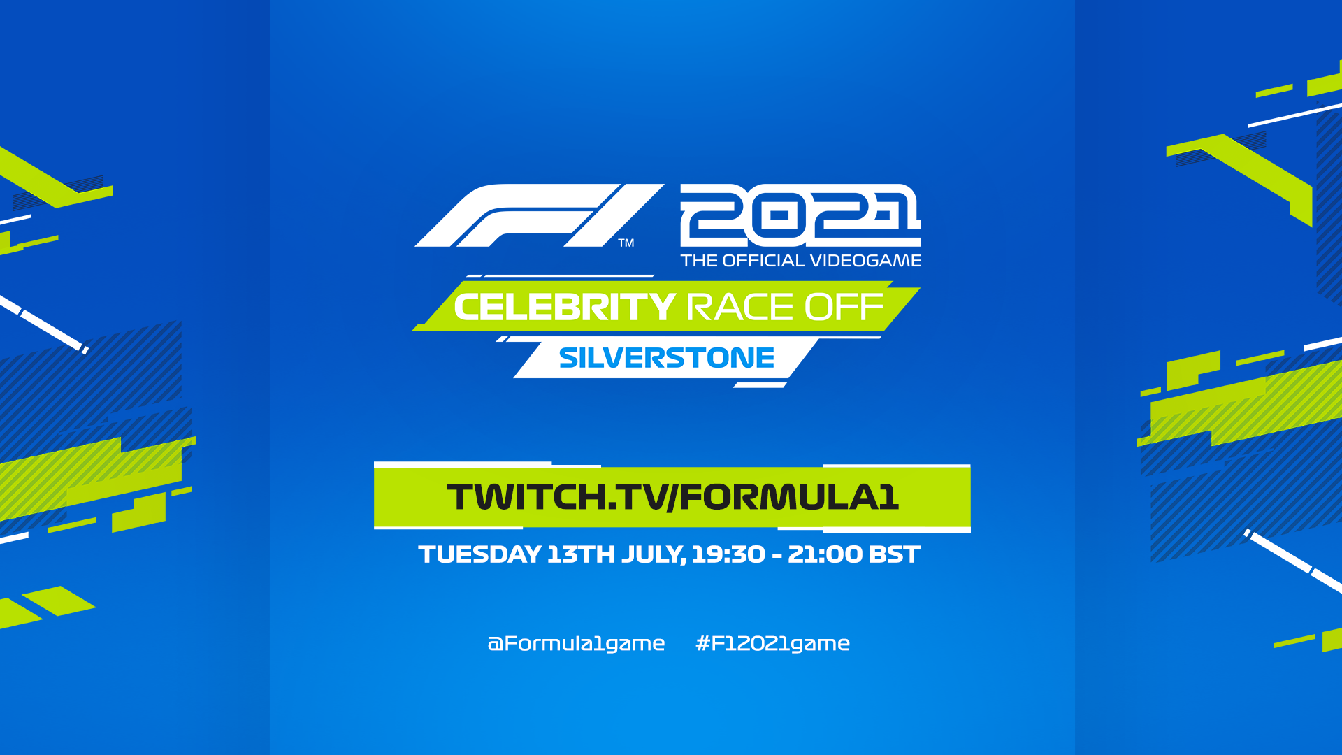 Stars to feature in F1® 2021 Celebrity Race-Off: Silverstone