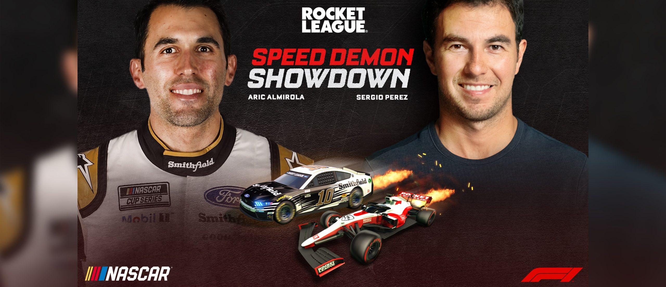 WHEN F1 TOOK ON NASCAR IN ROCKET LEAGUE!